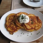 Sweet Potato Pancakes @ Back Forty