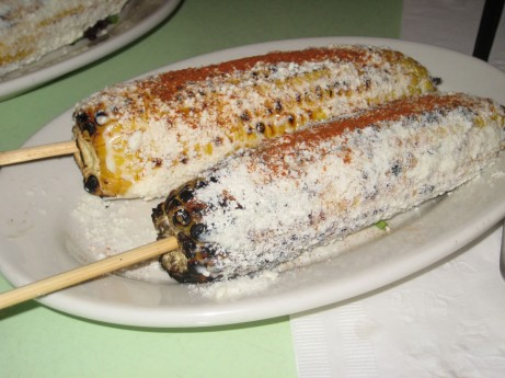Grilled Corn at Cafe Habana