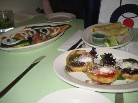 Food at Cafe Habana