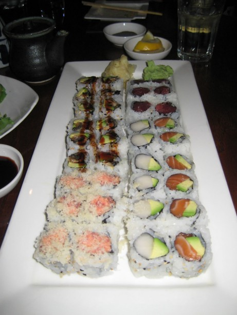 Sushi Rolls at Jin Restaurant
