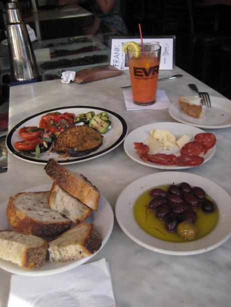 Antipasto at Frank Restaurant