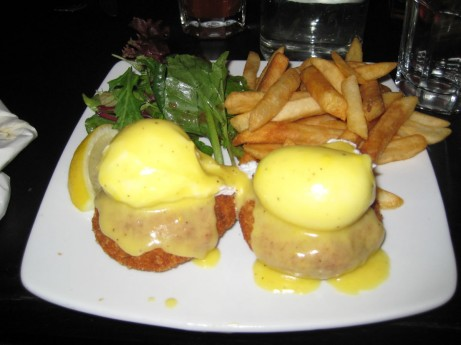 Barrier Reef Benedict at Sunburnt Cow