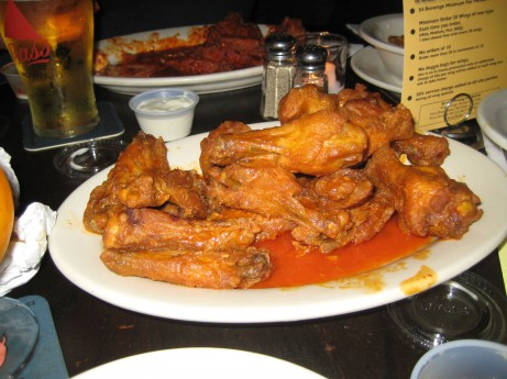 Wings at Croxley's
