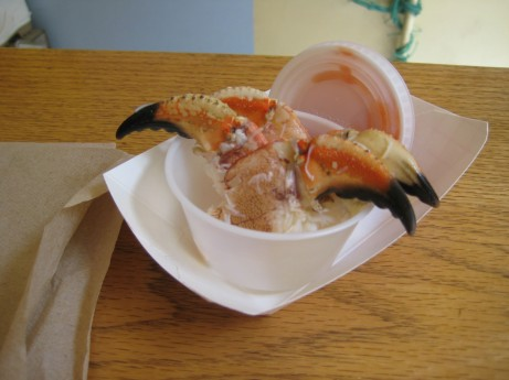 Empress Crab Claws at Luke's Lobster