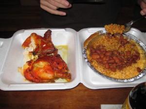 Chicken, Rice & Beans @ Casa Adela