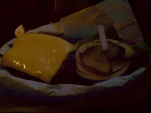 Cheeseburger @ Royale NYC