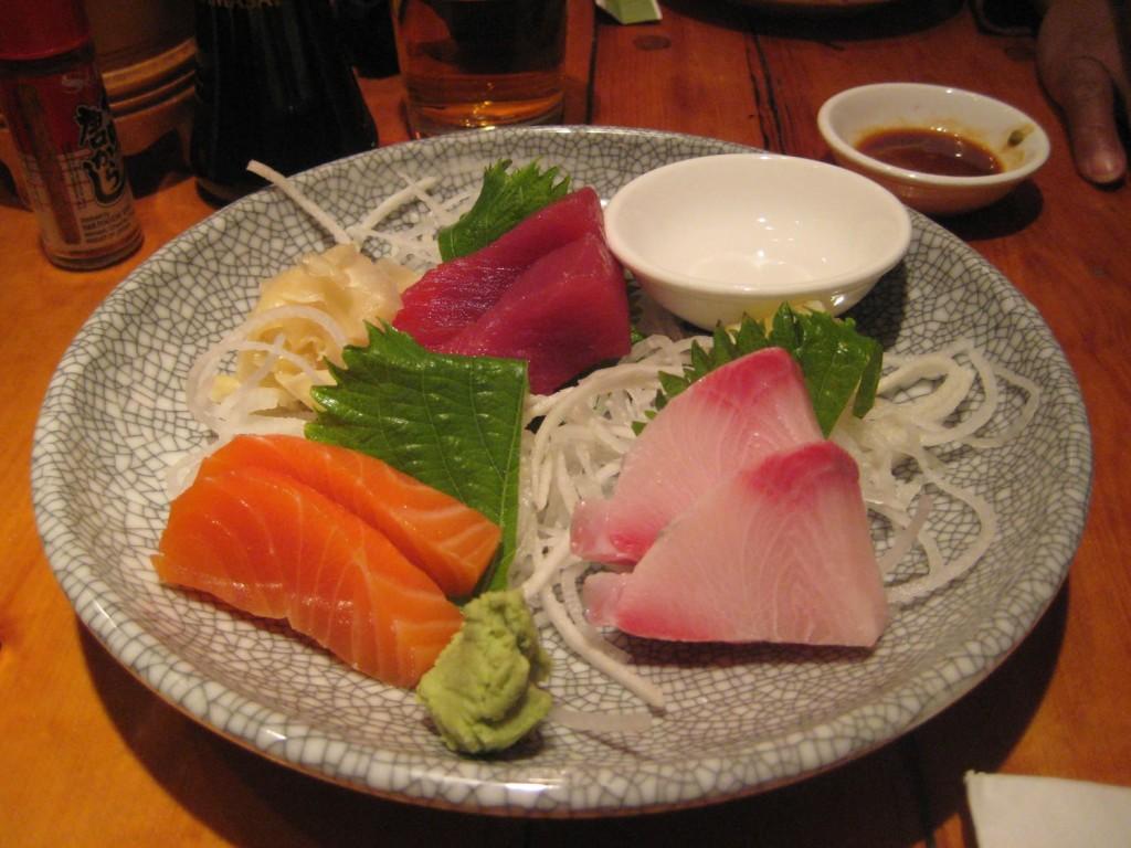 Sushi at Village Yokocho