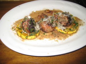 Veal Meatballs with Squash