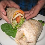 Berber Chicken Wheat Wrap