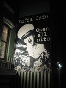 Yaffa Cafe Mural
