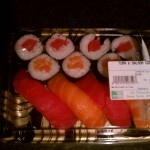 Tuna & salmon combo at M2M