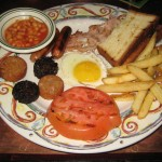 Full Irish Breakfast @ Dorian Gray