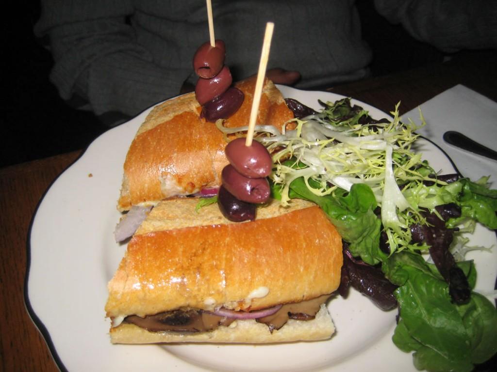 Portobello Sandwich @ The Farm On Adderley
