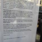 SOS Chefs Closes