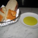 Bread & Olive Oil at Manzo