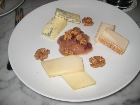 Cheeses at Manzo