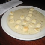 New England Clam Chowder at Grand Central Oyster Bar