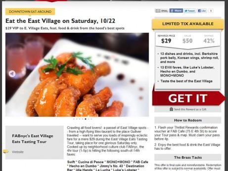 East Village Eats Tasting Tour 2011