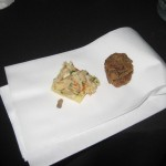 Food at Turkey Leg Ball 2010