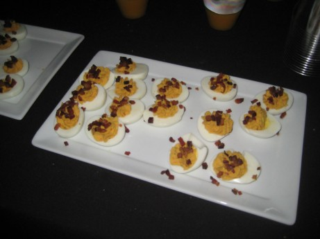 Deviled Eggs at Turkey Leg Ball 2010