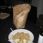 Leftovers at Turkey Leg Ball 2010