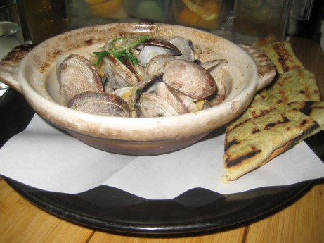 Sapporo Steamed Clams at Bond Street