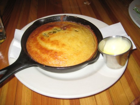 Cornbread w/ jalapeno & bacon @ The Brooklyn Star