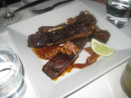 Espresso Glazed Pork Ribs