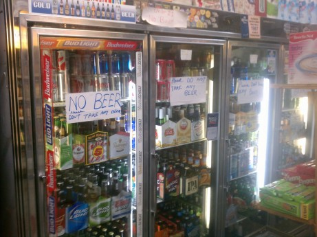 Akter Grocery Not Selling Beer (Expired License)