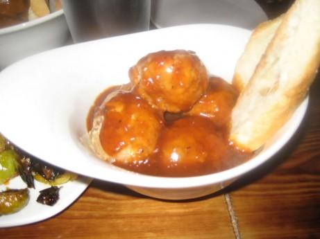 Hog Wild Meatball w/ Pepper Monkey Sauce