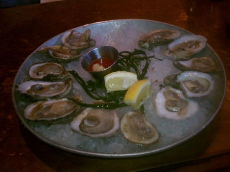 Oysters at City Crab & Seafood Company