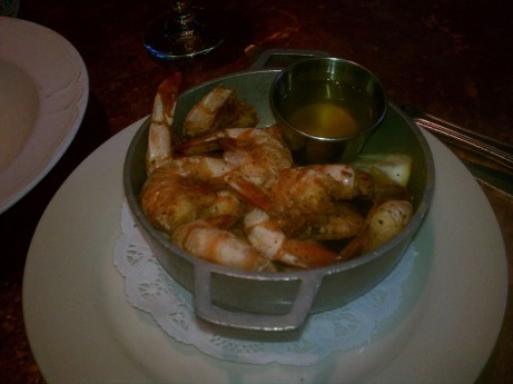 Shrimp at City Crab & Seafood Company
