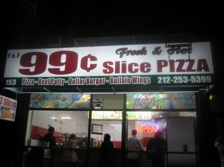 99 Cent Pizza on Avenue C