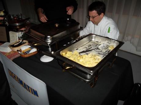 Nice Matin's Gorgonzola Tortellini @ Stinky Cheese Festival 2012