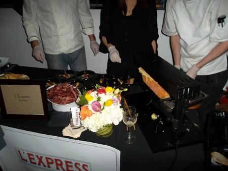 Raclette @ Stinky Cheese Festival 2012