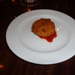 Potato & Cheese Croquette at Spina Restaurant