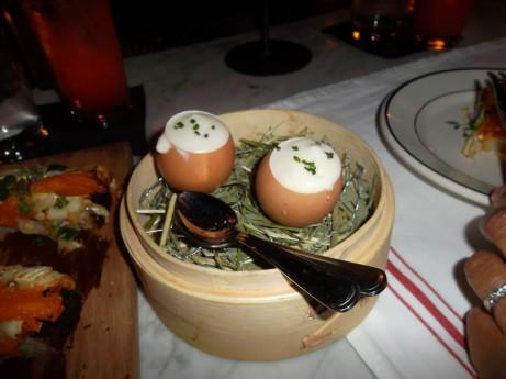 Farmer's Eggs at Acme NYC