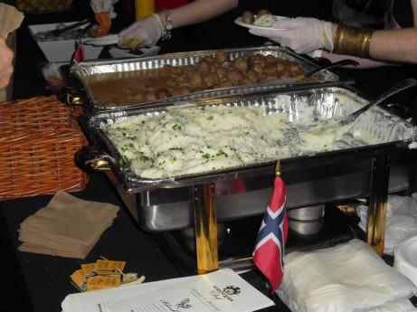 Smorgas Chef's meatballs @ Choice Eats 2012