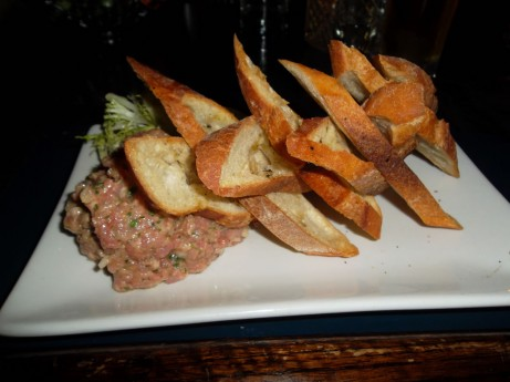 Steak Tartare at Post Office