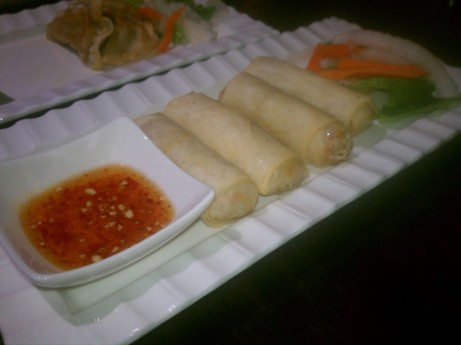 Crispy Spring Roll at Purple Ginger