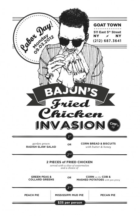 Fried Chicken Invasion At Goat Town