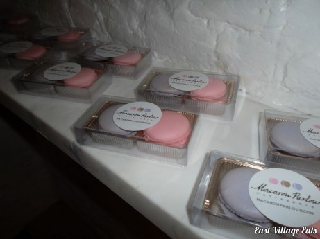Packaging at Macaron Parlour