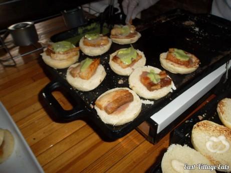 Tortita de Carnitas @ Salon Hecho - East Village Eats Tasting Tour 2012