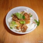 Pork Belly Rice Noodles @ Jum Mum - East Village Eats Tasting Tour 2012